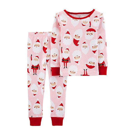 Carter's Christmas Girls 2-pc. Pajama Set Toddler