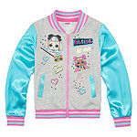 LOL Surprise! Girls Lightweight Bomber Jacket Preschool / Big Kid
