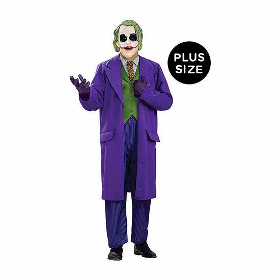 Buyseasons Batman Dark Knight The Joker Deluxe Adult Plus Costume