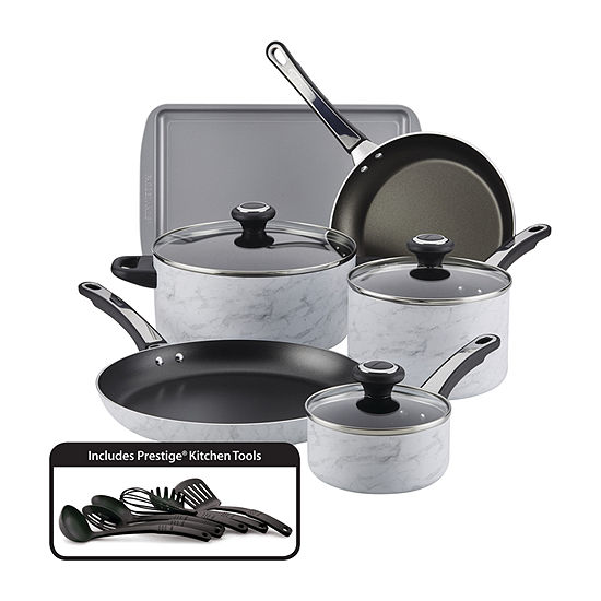 Farberware Marble 15-pc Cookware Set