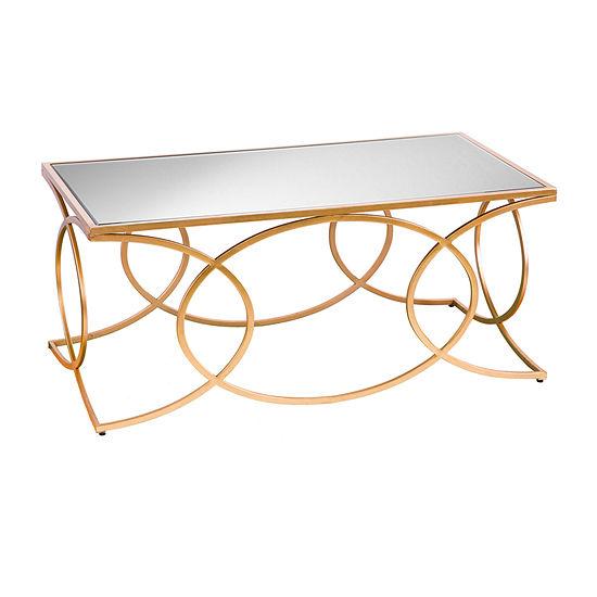 Praitini Geometric Coffee Table