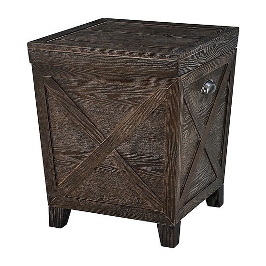 Qache Storage End Table