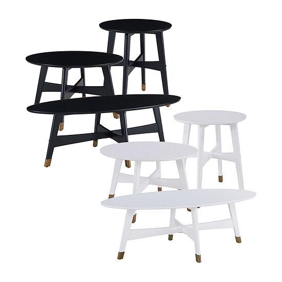 Reblum Oval Coffee Table