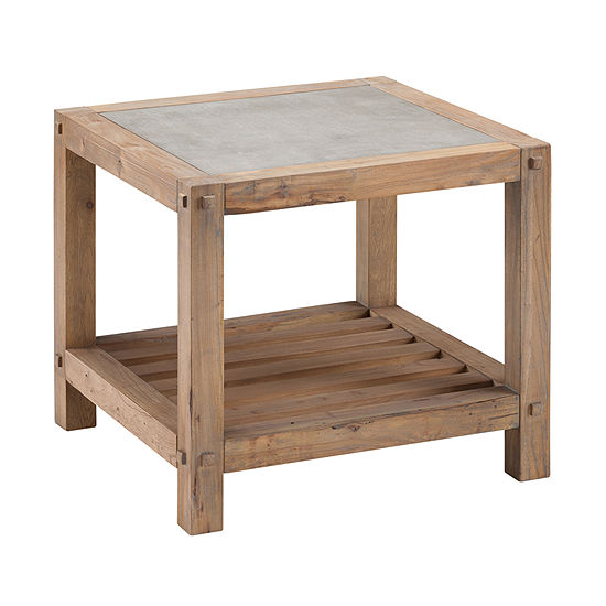 Thysal Reclaimed Wood End Table