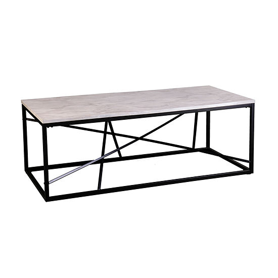 Tracarl Faux Marble Coffee Table