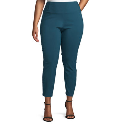Worthington Skinny Fit Pull on Pants - Plus