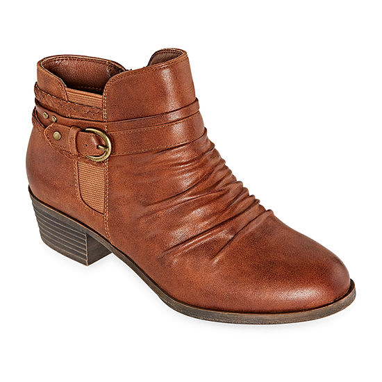 Yuu Womens Norah Zip Booties