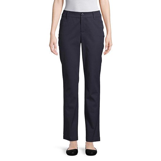St. John's Bay-Tall Straight Fit Trouser