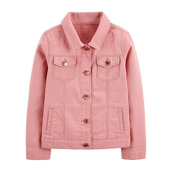 Carter's Girls Denim Jacket Preschool / Big Kid