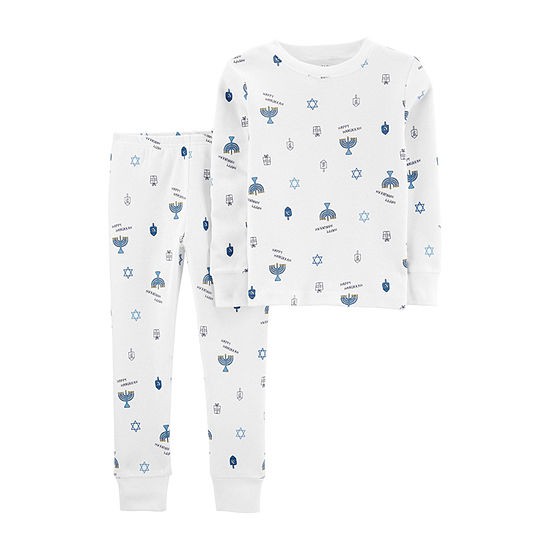 Carter's Hanukkah Toddler Boys 2-pc. Pajama Set