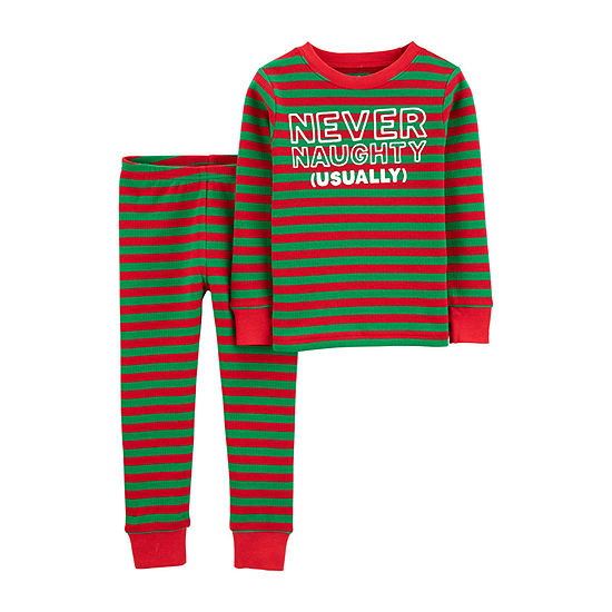 Carter's Christmas Toddler Boys 2-pc. Pajama Set