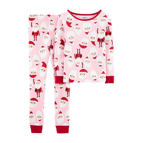Carter's Christmas Girls 2-pc. Pajama Set Preschool / Big Kid