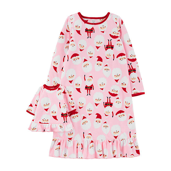 Carter's Santa Matching Nightgown & Doll Nightgown
