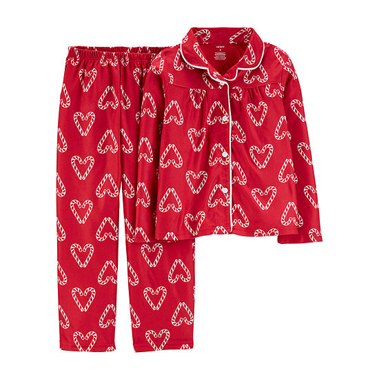 Carter's Christmas Girls 2-pc. Pajama Set Preschool / Big Kid