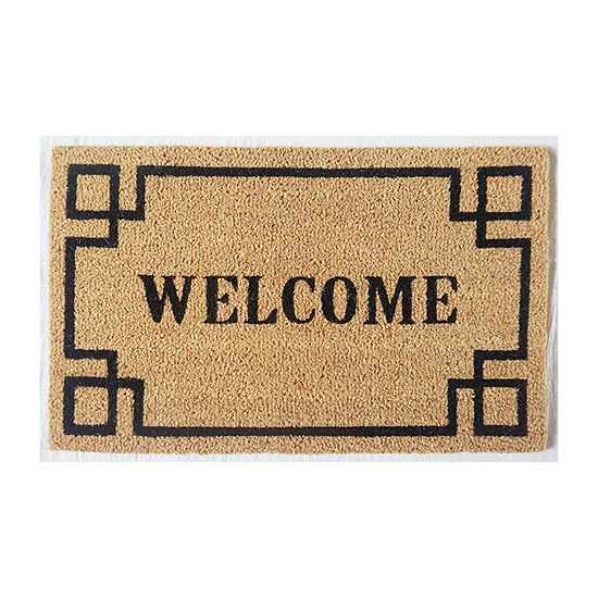 Direct Home Textiles Group Welcome Rectangular Outdoor Doormat