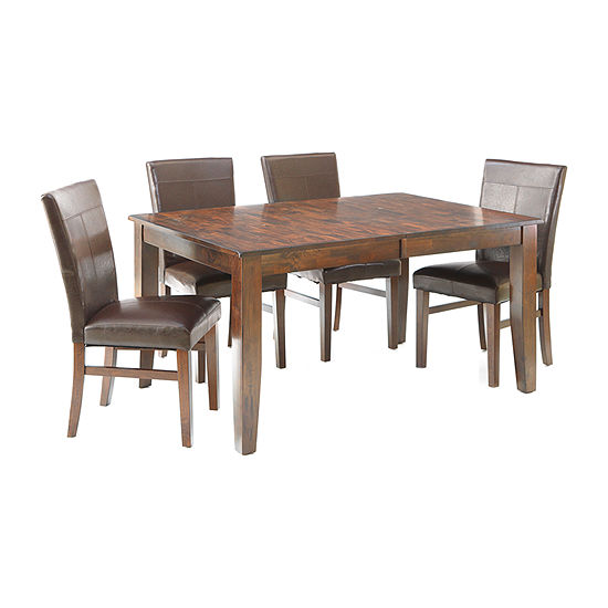 Landry 5-pc. Extendable Dining Set with 4 Parsons Chairs
