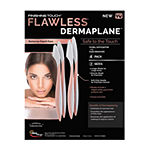 As Seen on TV Finishing Touch Flawless Dermaplane Facial Exfoliator And Hair Remover, Set Of 4