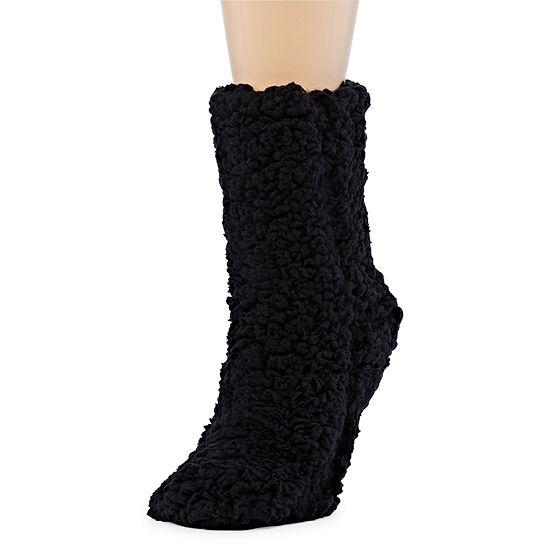Mixit 1 Pair Sherpa Slipper Socks Womens