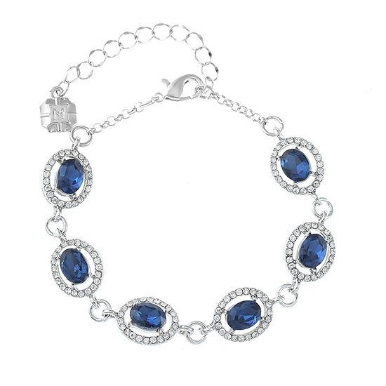 Monet Jewelry Blue Chain Bracelet