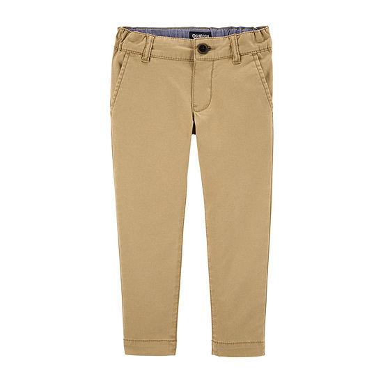 Oshkosh Flat Front Pant-Toddler Boys