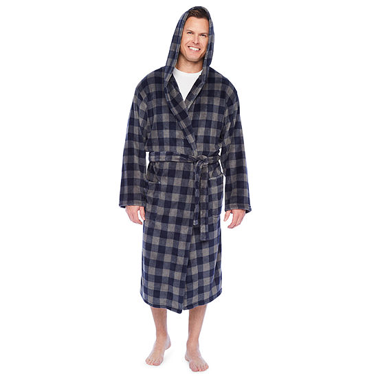 Stafford Soft Touch Hooded Robe