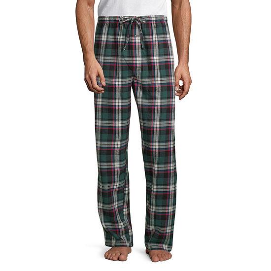 Stafford Mens Tall Flannel Pajama Pants
