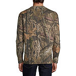 Mossy Oak Hunt Mens Crew Neck Long Sleeve Graphic T-Shirt