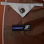 JF J.Ferrar 360 Stretch Tobacco Super Slim Fit Suit Jacket