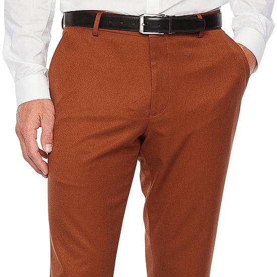 JF J.Ferrar Mens Stretch Super Slim Fit Suit Pants
