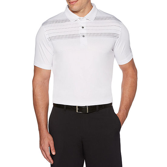 PGA TOUR Mens Collar Neck Short Sleeve Polo Shirt