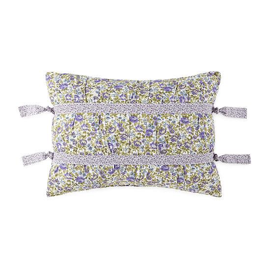 JCPenney Home Kennedy Rectangular Throw Pillow