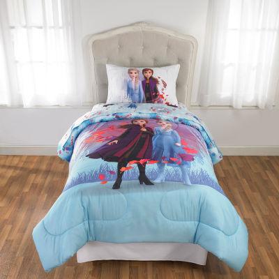 Disney's Frozen 2 Midweight Reversible Twin Comforter