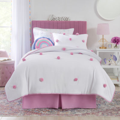 Frank And Lulu Pom Pom Reversible Quilt