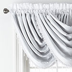 JCPenney Home Malone Rod-Pocket Waterfall Valance