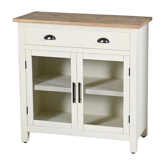 Stylecraft Quail Farm 2 Door with Shelf Accent Cabinet
