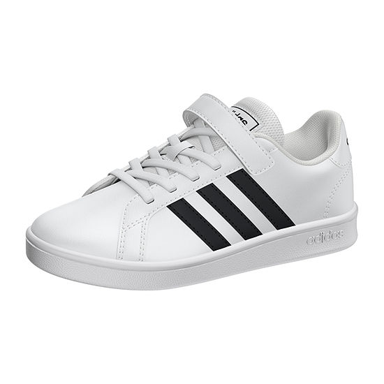 adidas Grand Court Little Kids Unisex Kids Hook and Loop Sneakers