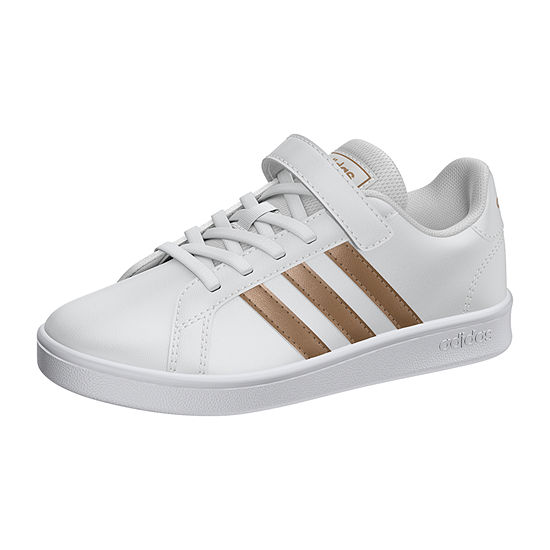 adidas Grand Court C Alt Little Kids Unisex Hook and Loop Sneakers
