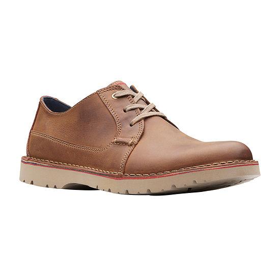 Clarks Mens Vargo Plain Oxford Shoes