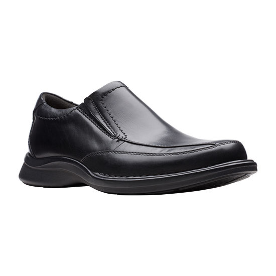 Clarks Mens Kempton Free Slip-On Shoe