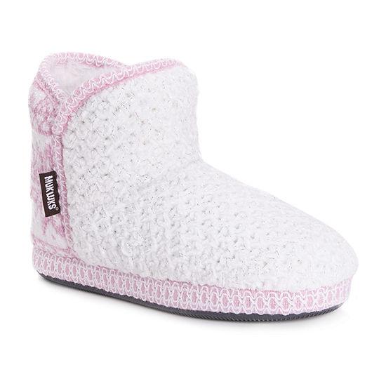 Muk Luks Karter Womens Bootie Slippers