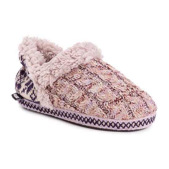 Muk Luks Magdalena Womens Slip-On Slippers