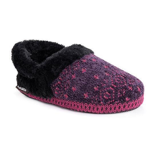 Muk Luks Belinda Womens Bootie Slippers