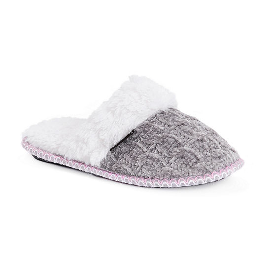 Muk Luks Cindy Scuff Womens Slip-On Slippers