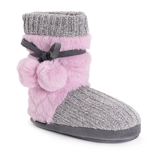Muk Luks Shannon Womens Bootie Slippers