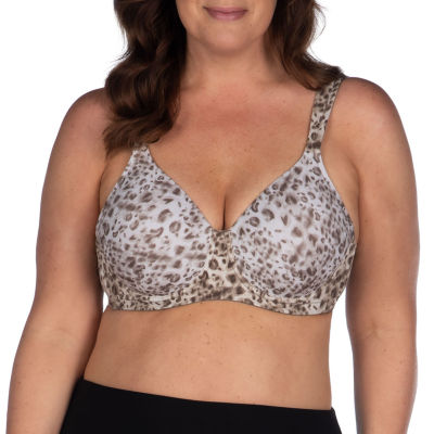 Leading Lady® Seamless Full Figure Padded Underwire T-Shirt Bra