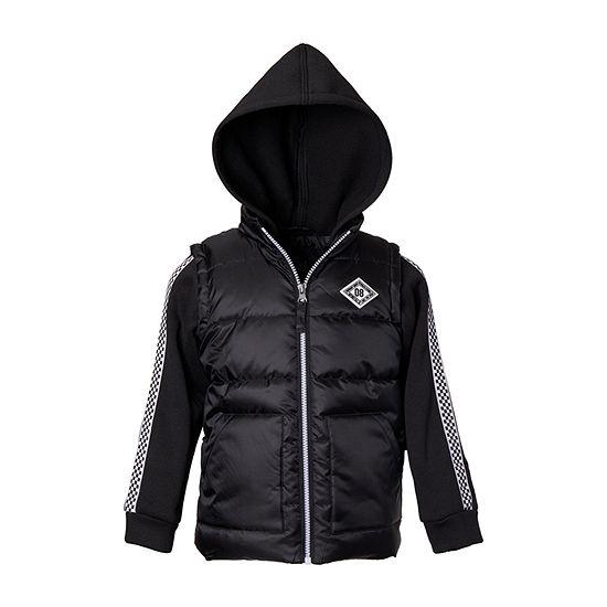 iXtreme - Boys Hooded Midweight Puffer Jacket-Big Kid