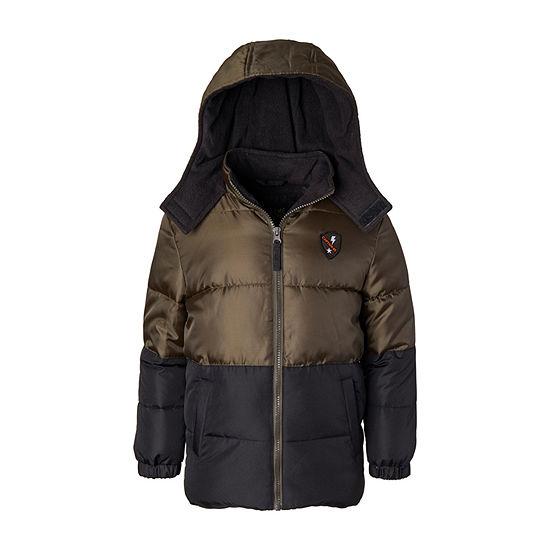 iXtreme - Boys Fleece Lined Heavyweight Puffer Jacket-Preschool
