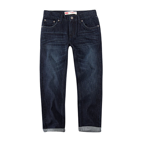 Levi's Boys 502 Slim Regular Fit Jean Big Kid