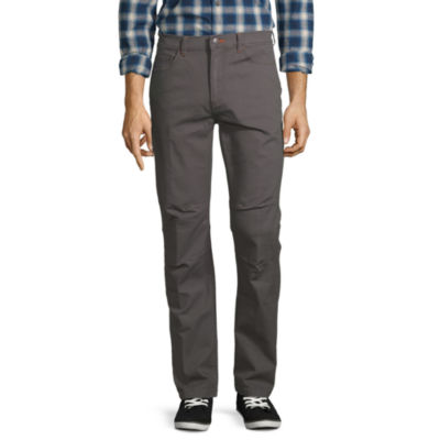 St. John's Bay Outdoor Stretch Mens Straight Fit Flat Front Pant