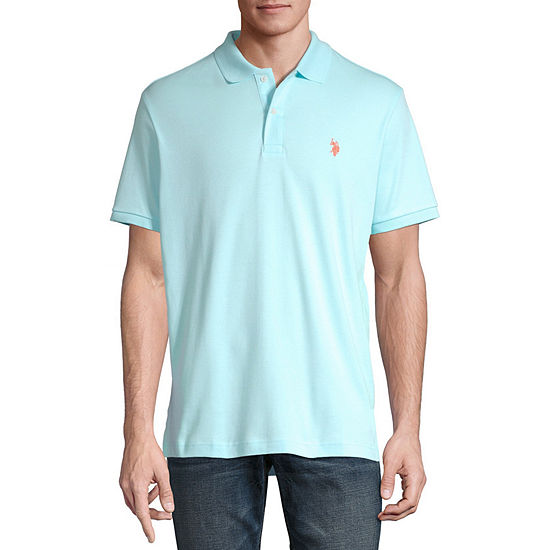 U.S. Polo Assn. Short-Sleeve Solid Interlock Polo
